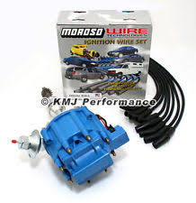 ford coil wiring ford hei distributor amp accel wires blue kit ford distributor sbf ford 289 302 hei ignition blue cap distributor moroso race wires 135