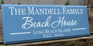 personalized beach house sign beach house decor beach sign beach cottage custom beach theme shore house decor coastal beach house gift beach house decor coastal