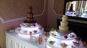 Znalezione obrazy dla zapytania fontanna czekoladowa