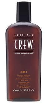 <b>American Crew Classic</b> 3-in-1 (Shampoo, Conditioner and Body ...