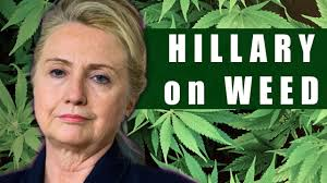 Image result for hillary clinton smoking weed