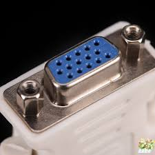 1Pcs 24+1 Pin DVI DDM To VGA F Adapter 25 Pin (<b>Dual Link</b>) <b>DVI D</b>