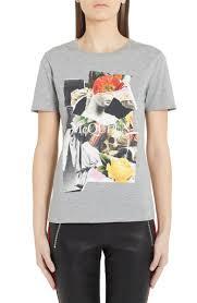Alexander McQueen <b>Collage Cotton</b> Tee | Nordstrom