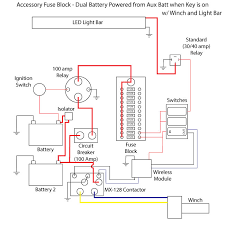 teryx 4 wiring diagram dual battery acc fuse block install polaris rzr forum rzr forums net dual