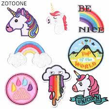 <b>ZOTOONE Unicorn</b> Patch Iron on Transfer for Jackets Hats ...