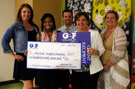 garland isd news the garland rowlett messenger the garland isd education foundation surprised 48 teachers and paraprofessionals grants and scholarships this spring president lisa cox along