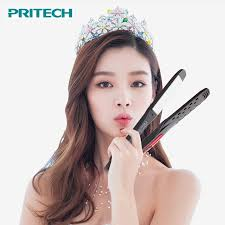 professional hair straightener titanium wide plates led display chapinha flat iron straightening irons planchas styling tools