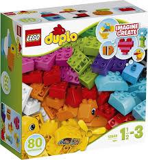 <b>Конструктор LEGO</b> DUPLO 10848 Мои <b>первые</b> кубики — купить в ...