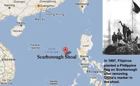 Image result for map of scarborough shoal