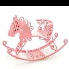 pink wire nursery rocking horse dollhouse miniaturejpg this rocking horse is pretty in several colors with some wire thin mat board and creativity baby nursery cool bee animal rocking horse