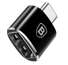 Адаптер <b>Baseus Exquisite</b> Type-C Male to USB Female Adapter ...