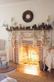 decorations build living a simple and rustic farmhouse christmas living room featuring a mixtur