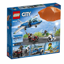 <b>Конструктор LEGO</b> City Police 60208 <b>Воздушная полиция</b>: арест ...