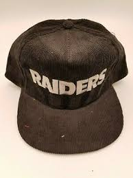 Vintage Oakland Raiders Starline вельвет шнур <b>бейсболка</b> ...