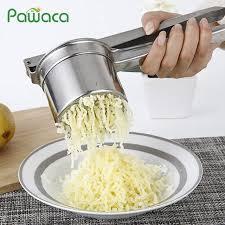Online Shop <b>Stainless Steel</b> Potato Ricer <b>Masher</b> Fruit Juicer ...