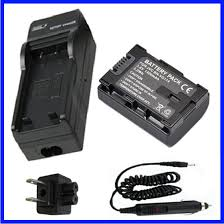 Battery+Charger for JVC Everio <b>GZ</b>-HM320, <b>GZ</b>-HM330, <b>GZ</b>-HM340 ...
