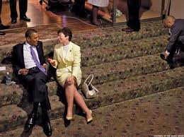 Image result for valerie jarrett moves in with obama pics