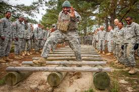 u s department of defense photo essay army reserve sgt 1st class robert isom demonstrates how to high step through an