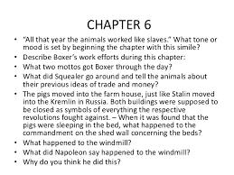 animal farm essay question  www gxart organimal farm chapter questionschapter animal farm questions