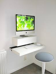 view in gallery small and stylish diy wall mounted desk build your own office furniture