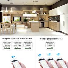 <b>DIY</b> Smart WiFi Light LED Dimmer Switch Smart Life/Tuya APP ...