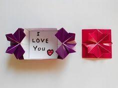 <b>Конверт</b> с цветком на застежке оригами, Envelope with flower ...