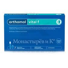 Купить <b>Ортомоль Витал Ф</b> флакон 20 мл + капс 800мг №7 №1 в ...