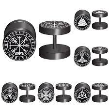 <b>2pcs</b>/<b>Lot</b> Sigil Viking Runes Sigil Protection Talisman WICCA ...