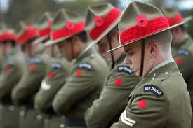 Image result for ANzac day parade nz image