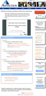 social source commons blog nonprofit tech tools and social media aspiration learning resources page mock up