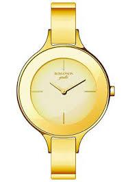 <b>Часы Romanson RM8276LG</b>(<b>GD</b>) - купить женские наручные <b>часы</b> ...