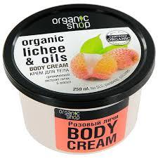 """<b>Крем для тела</b> Organic Shop """"<b>Розовый</b> личи"""", 250 мл — купить в ..."""
