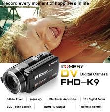 <b>KOMERY Video</b> Camera Full HD Portable Camcorders 24 MP 16X ...