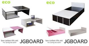 jgboard_table_bed cardboard furniture for sale
