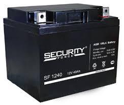 Аккумуляторные батареи <b>Security Force</b>, официальный партнер ...