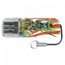 USB-<b>флеш</b>-<b>накопитель Verbatim 32GB</b> Mini Tattoo Edition Dragon