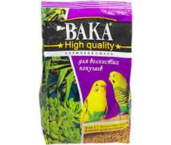 Купить <b>Корм Вака High</b> Quality Для Волнистых Попугаев 500г (1 ...