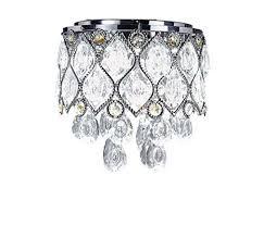 Diamond Life Modern LED <b>Crystal Chandelier Chrome Metal</b> Shade ...