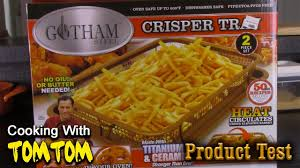 Gotham Steel Crisper Tray Unboxing and Review | French <b>Fry</b> Test ...