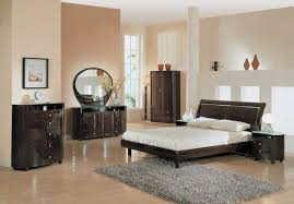 classy bedroom decorating ideas classic modern bedroom design with low bed combine with grey rug bedroom ideas dark brown