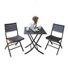Prices See Seville Classics <b>3 Piece Folding Bistro</b> Set - Efrain ...