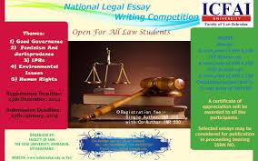 faculty of law the icfai university dehradun national legal nlewc 2015 poster