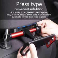 Adjustable 4 7 9 10 12 12.9 Inch <b>Car Rear Pillow Phone</b> Tablet ...
