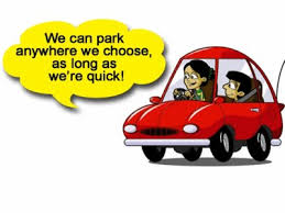 Image result for cartoon of parked car