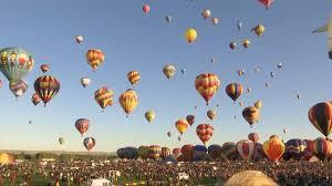 <b>Hot air</b> balloons rise at <b>New</b> Mexico fiesta - YouTube