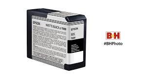 <b>Epson</b> UltraChrome K3 <b>Matte Black</b> Ink Cartridge (80 ml) T580800