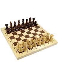 "<b>Игра настольная</b> ""<b>Шахматы</b>"" деревянные (поле 29см х 29см ..."