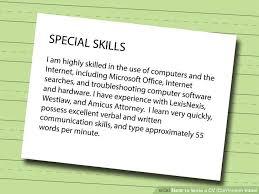 Image titled Write a CV  Curriculum Vitae  Step   Cargo