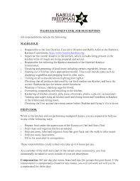 resume example line cook sample resume line cook resume skills prep