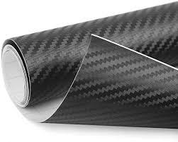 uxcell 3D <b>Carbon</b> Fiber Bubble Free Stretchable Car Vinyl Film ...